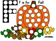 Fall Dot Paint - Re-pinned by @PediaStaff – Please Visit http://ht.ly/63sNt for all our pediatric therapy pins
