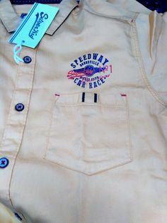 Kids shirt detailing Mens Polo T Shirts, Boys T Shirts, Mens Designer Shirts, Pocket Pattern, Clothing Labels, Tee Design, Shirt Style, Casual Shirts, Shirt Designs