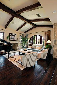 ...with hardwood floors #decor  www.launstein.com