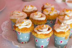 Cupcakes de laranja