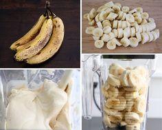 zmrzlina z 2 ingrediencii banan a arasidove maslo 7 Garlic, Ice Cream, Vegetables, No Churn Ice Cream, Icecream Craft, Vegetable Recipes, Ice, Veggies, Gelato