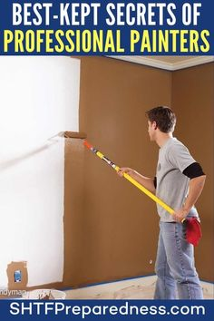 DIY projects can be fun and are definitely economical, not to mention the satisfaction that comes from being self-sufficient. Diy Projects Cans, Easy Diy Projects, Best Kept Secret, The Secret, Basic Life Support, Professional Painters, Useful Life Hacks, High Energy, Home Repair