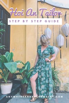 Looking for things to do in Hoi An, Vietnam? Getting Tailor dresses and clothes is the best! I've had 12 custom things made in Hoi An so I think I'm a pro by now. Here's my recommendation of the best tailor in Hoi An and a step by step guide to getting cl Vietnam Travel Guide, Asia Travel, Custom Made Clothing, Custom Clothes, Hoi An Tailor, Solo Travel Tips, Travel Hacks, Backpacking Tips, Da Nang