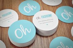 Oh, Fashion! Business Cards by webmaisdesign, via Flickr
