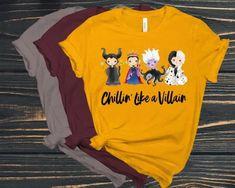 Travel Shirts, Vacation Shirts, Disney Villain Shirt, Disney Villains, Snow White Queen, Disney Halloween Shirts, Disney Style, Disney Trips, Direct To Garment Printer