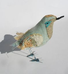 Abigail Brown - love her embroidered birds