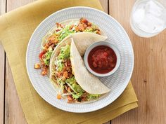 Easy dinner alert! These tacos come together in less than 20 minutes.