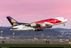 Singapore Airlines 9V-SKJ Airbus A380-841 by Roland74