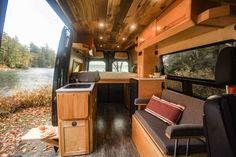 Half Dome - Freedom Vans Van Conversion Build, Van Conversion Interior, Camper Van Conversion Diy, Patio Lighting, Interior Lighting, Ambulance, Motorhome, Build A Camper Van, Diy Camper