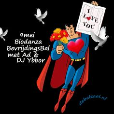 Biodanza  BevrijdingsBal met Ad en DJ Ybbor  in De Balzaal in Gouda