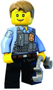 Lego Chase McCain WALL STICKER lego city wall by Hatsbyalyssa, $65.00
