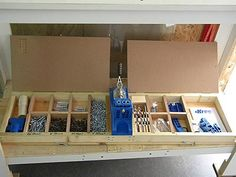 Pocket hole jig organization