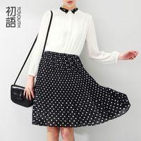 To Youth Women Spring Summer Dress Women Clothing Casual Long Maxi Women Print Chiffon Dress For Girl Print Dress
