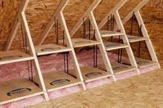 Creating storage in the attic (1)
