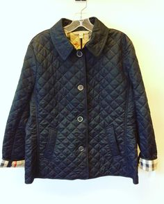 #BurberryBrit #Burberry #Quilted #Jacket | Size XXL | Retail $595 | Our Price $238! Call for more info (781)449-2500. #FreeShipping #ShopConsignment  #ClosetExchangeNeedham #ShopLocal #DesignerDeals #Resale #Luxury #Thrift #Fashionista