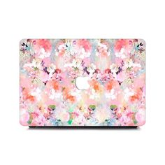 personalize your style with our best designs macbook case. Laptop Case Macbook, Apple Laptop, Florals, Cool Designs, Plush, Pink, Floral, Flowers, Pink Hair