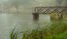 Misty morning at the dam