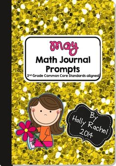 This fantastic pack of Common Core aligned Math journal prompts is perfect for the month of May. The prompts are themed around gardens, insects and spring. Included are 28 prompts - one for each Second Grade Common Core Standard.