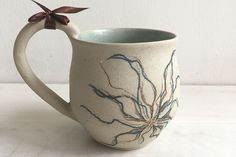 The Big Handle Mugs by Rekha Goyal | Ceramic Artist Price Rs 700 plus shipping  Buy here http://www.worldartcommunity.com/items/the-big-handle-mugs-rekha-goyal/ Tag photoAdd locationEdit