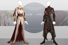 [CLOSED-Auction] Adoptable outfit by Eggperon on DeviantArt Clothing Sketches, Dress Sketches, Fashion Design Drawings, Fashion Sketches, Anime Outfits, Cool Outfits, Kleidung Design, Fantasy Dress, Fantasy Outfits