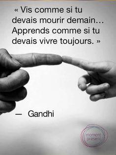 Citation Gandhi – A Fleur de Mots The Words, More Than Words, Quote Eyes, Peace Quotes, Life Quotes, Citation Gandhi, Gandhi Quotes, 13. November, Eyes Closed