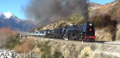 Mainline Steam trust ran a mainline excursion from Christchurch to Arthurs Pass behind streamlined on Sunday July Here is footage of the bea. Alps, New Zealand, King