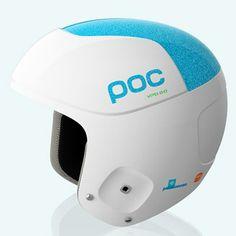 Snow / Ski Helmets - POC Sports. Julia MAncuso's helmet she wears when she skis