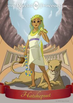 Rejected Princess - Hatshepsut