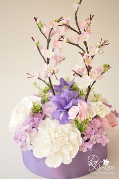 asuka-ctp12 by dkdesigns, via Flickr Clay Flowers, Sugar Flowers, Fake Flowers, Beautiful Flowers, Beautiful Flower Arrangements, Floral Arrangements, Flower Packaging, Gum Paste Flowers, Decoration Table