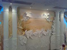 Декор стен -Барельеф 