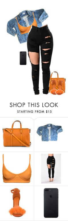 """""""Untitled #761"""" by qveenevelyn ❤ liked on Polyvore featuring Gucci and GUESS"""