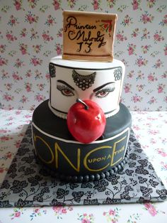 'Once Upon A Time' Cake by WIsh I Had A Cake... www.wishihadacake.weebly.com
