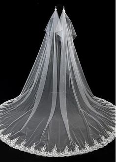 Buy Lace and Long Cheap Wedding Veils for Sale - Adasbridal.com