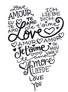 I love you in 100 languages English - I love you Afrikaans - Ek het jou lief Albanian - Te dua Arabic - Ana behibak (to male) Arabic - Ana behibek (to female) Armenian - Yes kez sirumen Bambara - M'bi...