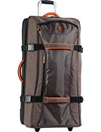 d129b9917b5 Timberland Luggage Twin Mountain 26 Inch Wheeled Duffle  Sturdy and  resilient timberland wheeled duffle collection