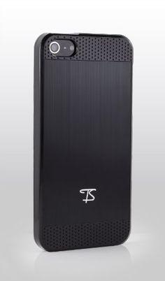 TS iPhone 5 Case Hülle Schutzhülle Cover Etui - Alu gebürstet, Schwarz von TS iPhone 5 Cases, http://www.amazon.de/dp/B00AAC23XU/ref=cm_sw_r_pi_dp_gvg1qb0271RGX