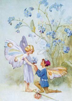 Fairy Love - Illustration by Margaret W. Tarrant