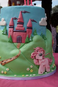 My little pony cake by Beckie. Best ever!  Cake  Pinterest
