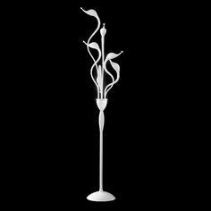 White Swan 6 Light Floor Lamp