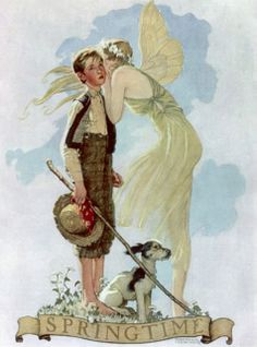 Norman Rockwell, Springtime (1933)