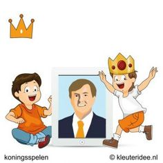 Video koningshuis, koningsspelen voor kleuters, kleuteridee.nl ,10 .