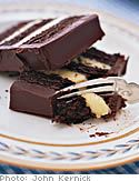"I got this recipe from the magazine years ago and it's always been a hit. Why it's just called ""chocolate cake"" is beyond me. My husband calls it ""Gourmet Ho-Ho Cake."" Much more fun and descriptive."