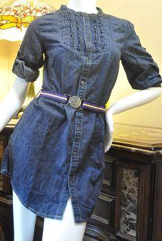 Ralph Lauren Girls Denim Dress Size 16 #RalphLauren #Everyday