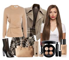 """""""Jill"""" by bren-johnson ❤ liked on Polyvore featuring Jil Sander, Calvin Klein, MAC Cosmetics and Marc Jacobs"""