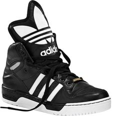 Adidas High Top with metal on lace base.StarsЯUs