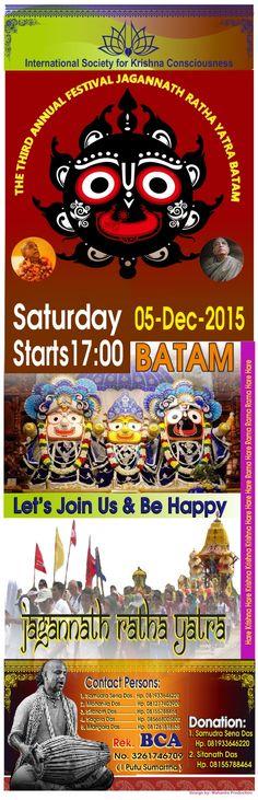 Nitai Gaura Krishna Center Batam Kepulauan Riau Indonesia: Welcome to Jagannath Ratha Yatra Batam - Kepulaun ...