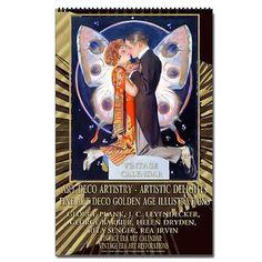 Art Deco Artistry - Delights 1 Vert Calendar