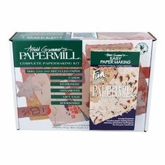 39.95 SALE PRICE! Create custom stationary or cards with this papermaking kit. Arnold Grummer's Papermill lets you explore the excitement of making your own ...
