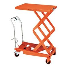 JET DSLT-770 Double Scissor Lift Table by Jet. Save 23 Off!. $784.36. From the Manufacturer                The SLT Series Scissor Lift Tables will help you with all your lifting needs . Ideal for lifting, positioning and transporting heavy materials around the shop, factory, warehouse or office. The SLT is a Ergonomic answer to preventing back injuries.                                    Product Description                The JET Double Scissor Lift Table helps you lift, positi...