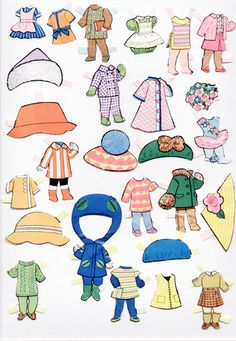 Paper Dolls~Petal People - Bonnie Jones - Picasa Webalbum*1500 free paper dolls for Christmas at artist Arielle Gabriels The International Paper Doll Society and also free Asian paper dolls at The China Adventures of Arielle Gabriel *
